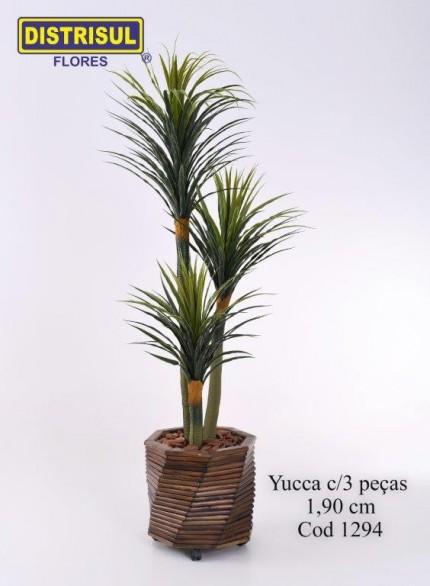 1294 - Yucca com 3 peças - 1,90m