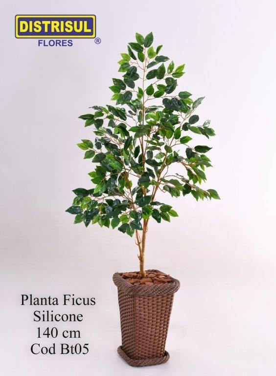 Bt05 - Planta Ficus Silicone com 1,40m