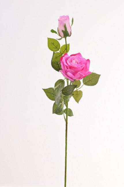 1160 - Haste rosa silicone 79cm