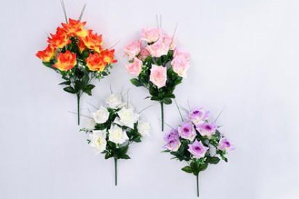 1407 - Buque de Rosas 50cm