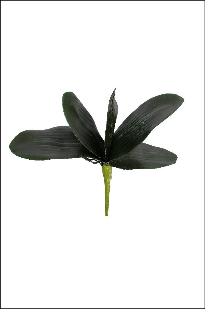 1044 - Folha de Orquídea - 30 Cm